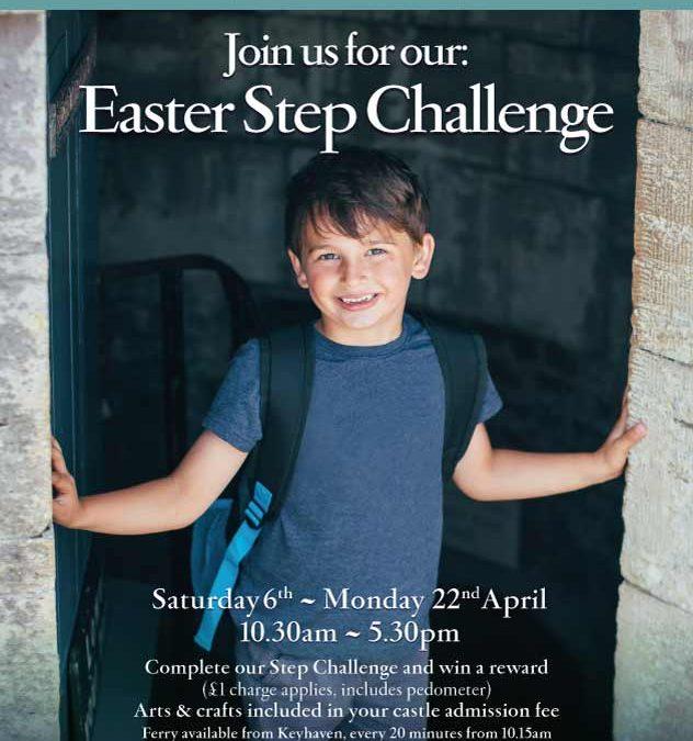 Hurst Castle Easter Step Challenge